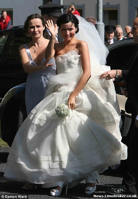 Andrea Corr Almost Upstaged At Star Studded Wedding By Bono Arriving In Flash Sports Car Limo
