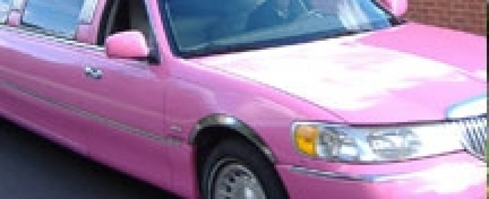 Schoolgirl blinded by rock attack on pink birthday limo
