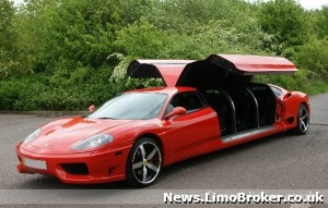 One-of-a-kind Ferrari limo