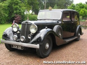 King George VI's Lancaster Limo goes to auction