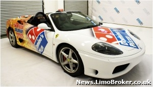 Dominos Ferrari