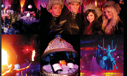 Limo Hire to the biggest Christmas party in Milton Keynes