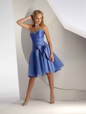 Blue Prom Dresses
