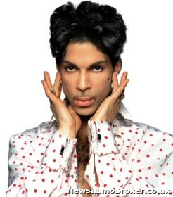 Prince demands chauffeur driven limo for 25 metre ride to the stage
