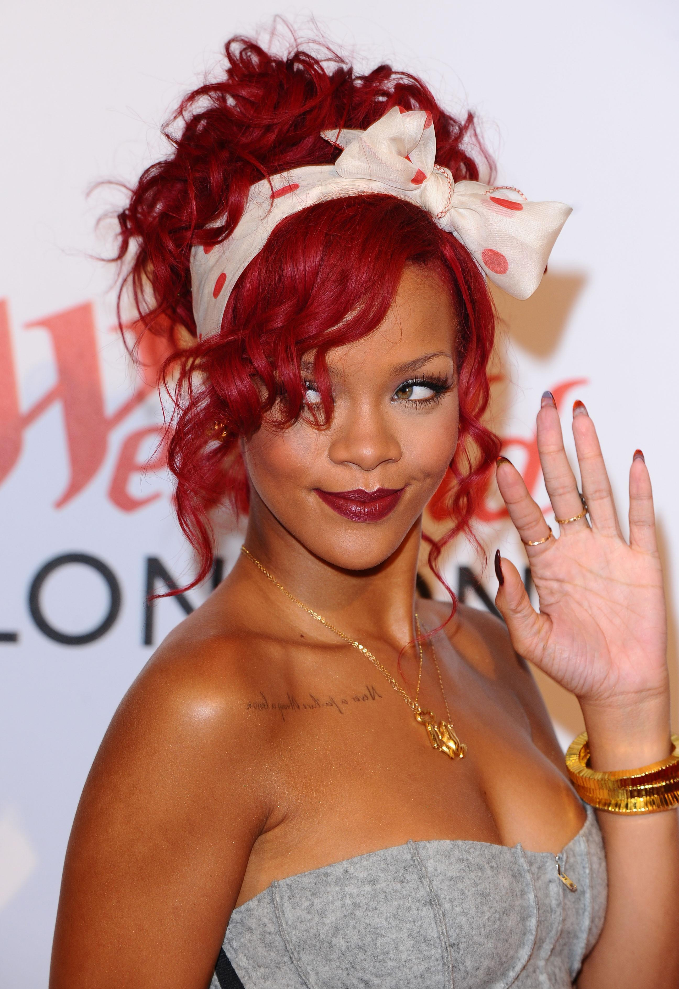 Rihanna hangs onto number one spot in UK singles chart