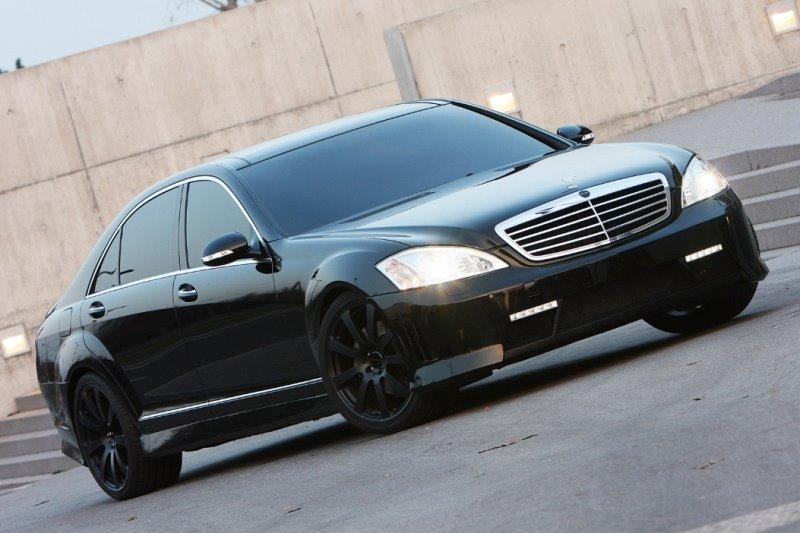 Mercedes S Class Black