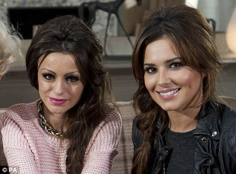Cher Lloyd gets stick from Cheryl Cole on Twitter