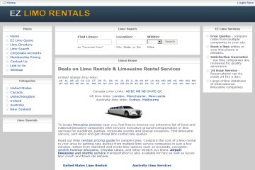 American limo rental website EzLimoRentals.com bought out by mystery UK buyer