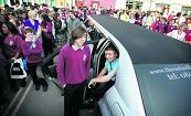Year 11 students presented with limo hire by school