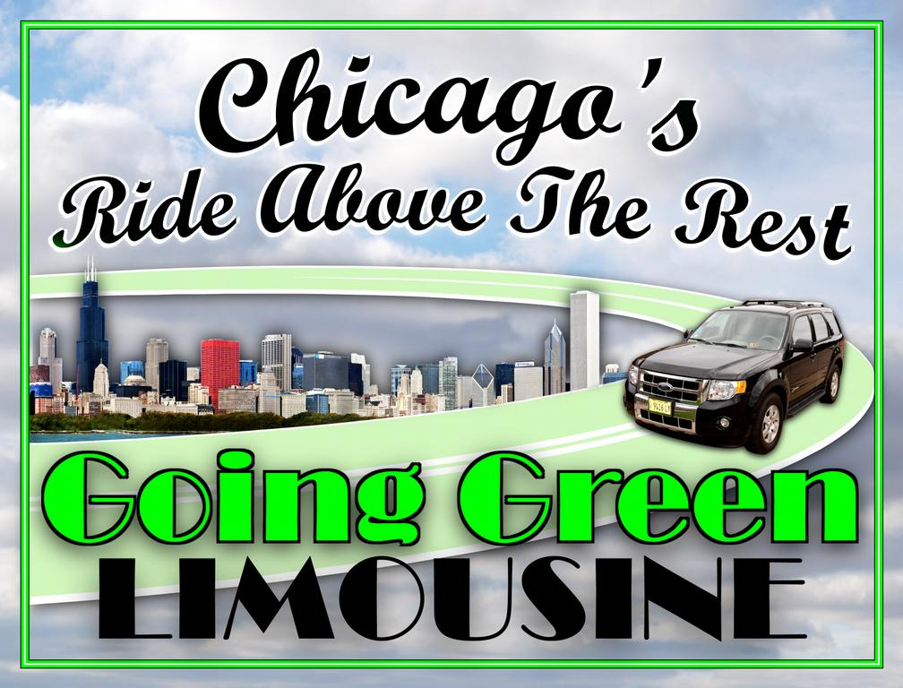 Goinggreenlimousine Logo Full