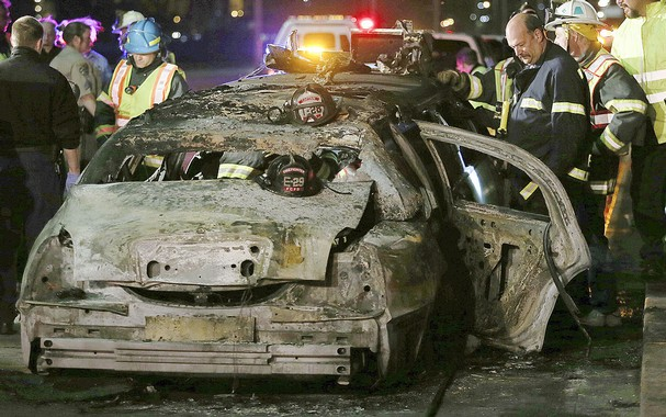 Five dead in US limo fire