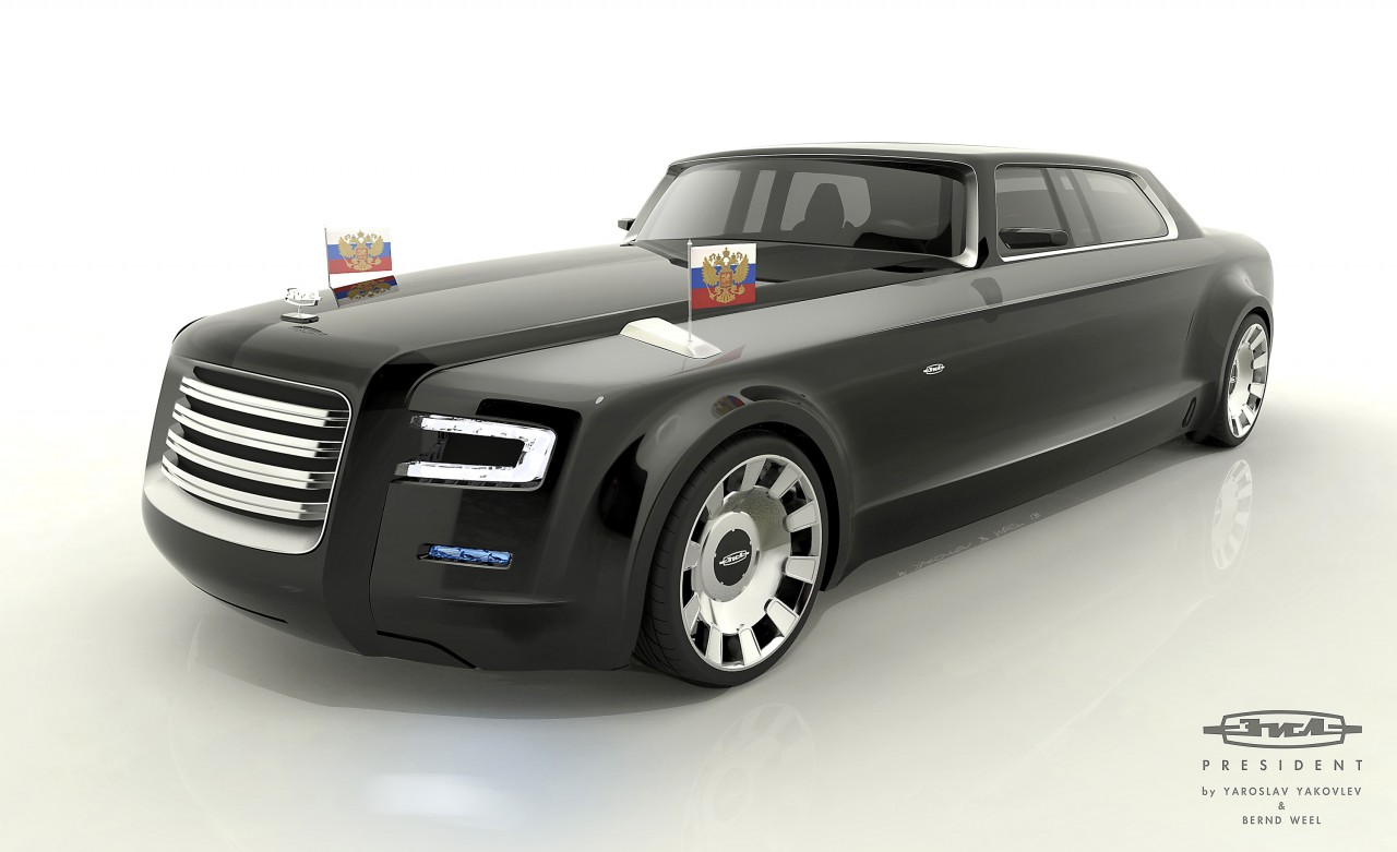 The internet designs President Putin a new limo
