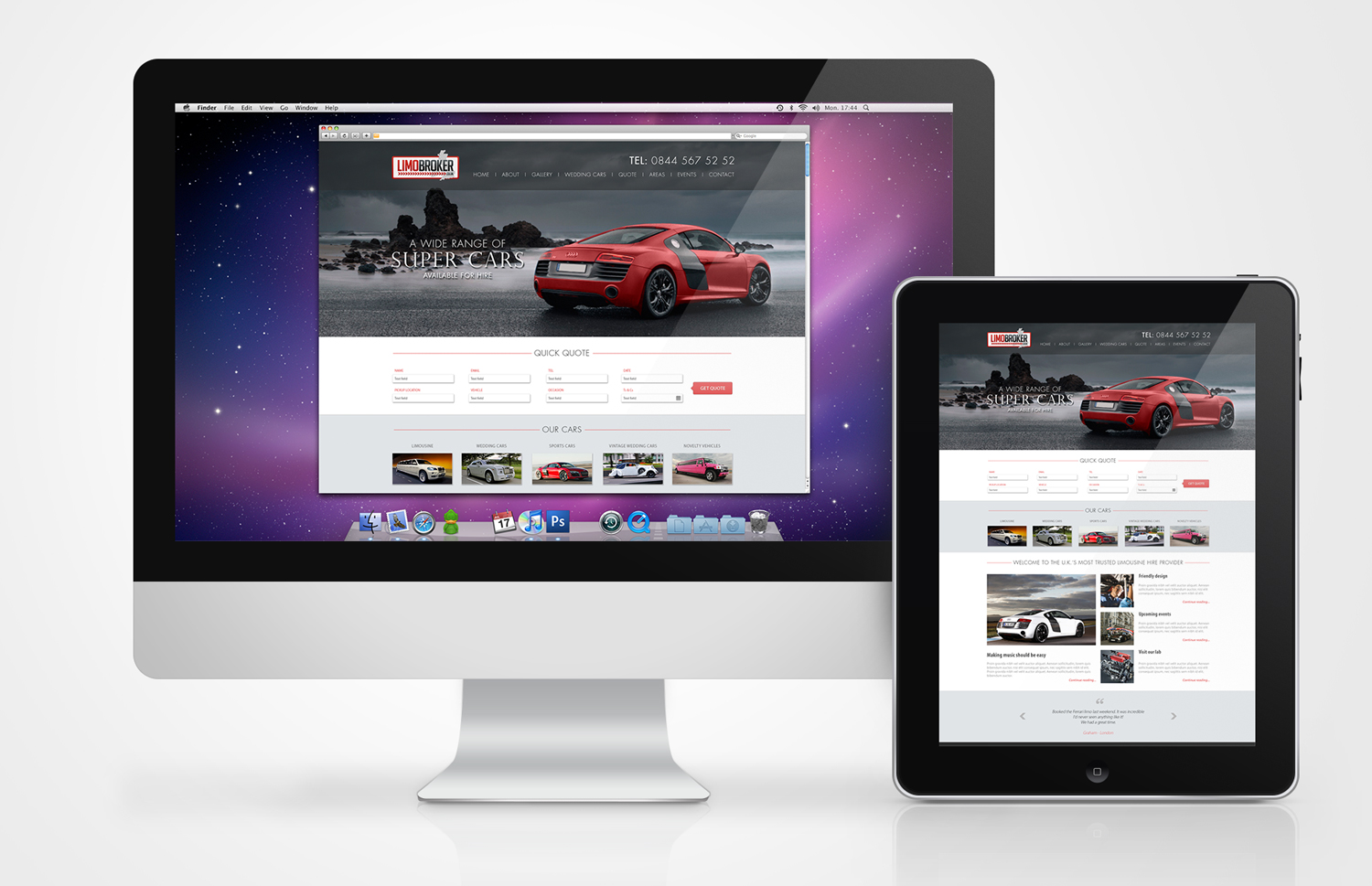 Limo Broker launches new and improved website