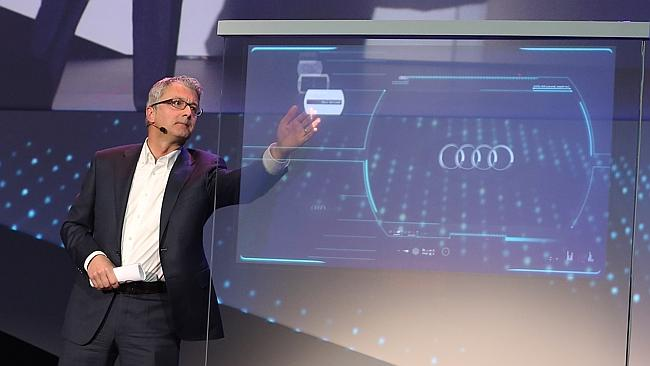 Audi Promises to Invent Technology to Launch the First Driverless Car