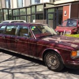 Rolls Royce Silver Spur Limousine Sighting in China