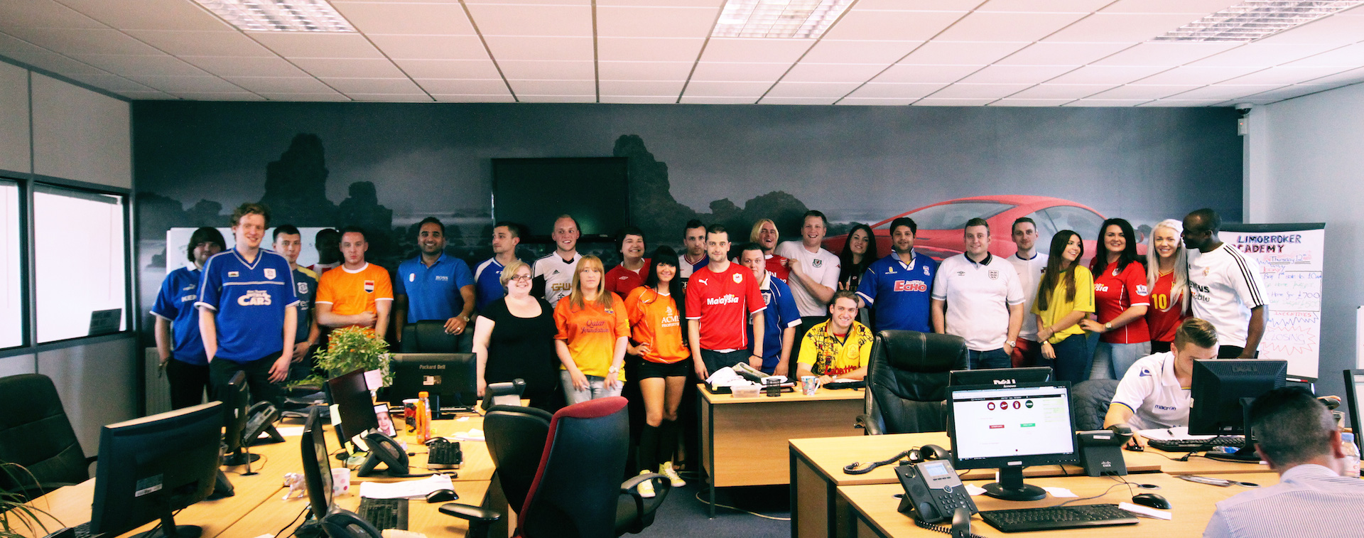 Transport Broker Group Celebrate World Cup Kick Off With Healthy Charity Donation