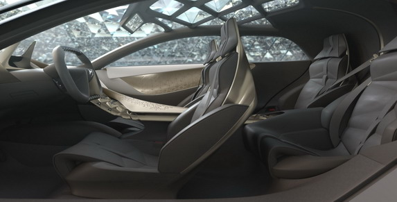Citroen promote their luxury brand with outlandish concept car