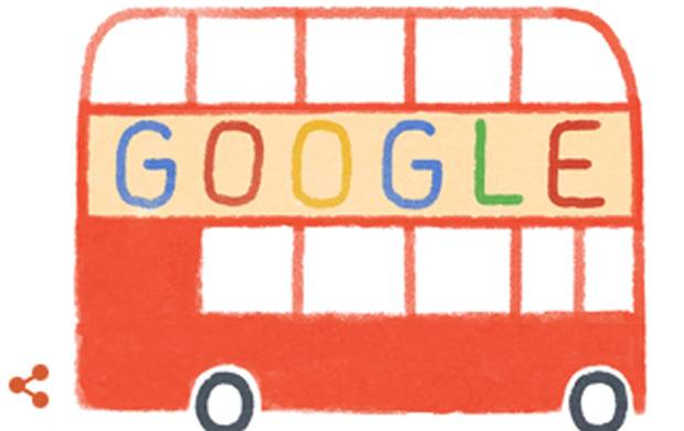 Google Doodle Celebrates the 60th Anniversary of the Routemaster Bus