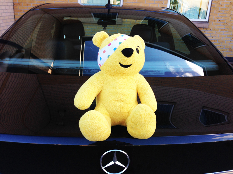 TBG Wear Pyjamas to Work and Send Pudsey on a UK Tour for Children in Need