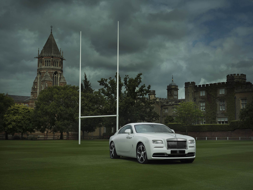 Rolls Royce Introduce Bespoke 'History of Rugby' Wraith