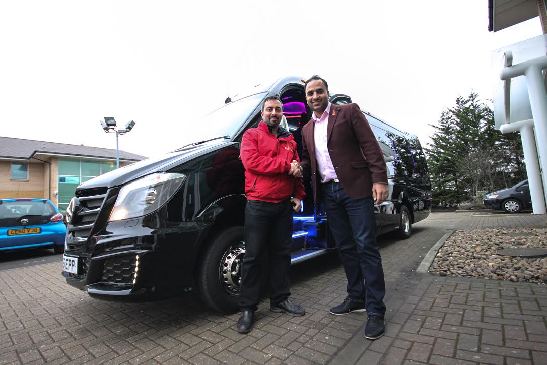 Thandi Coaches Reinvents Birmingham Transport With Starline Limo Bus Delivery