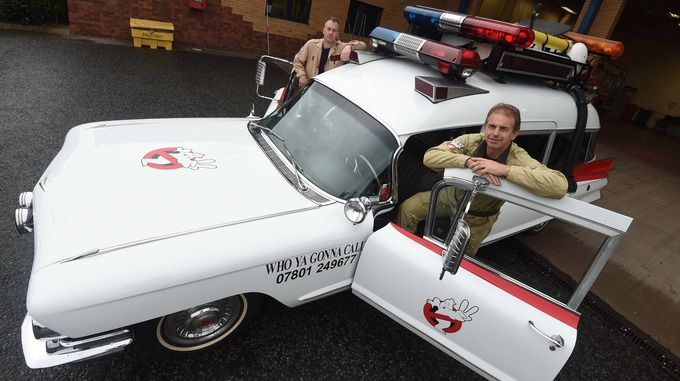 Ghostbusters limo in demand as new film hits the cinemas