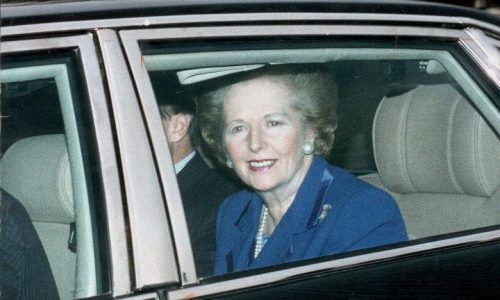 Margaret Thatcher's limo sells for £40,000 at auction