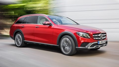New Mercedes E-Class All-Terrain is on its way