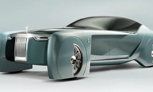 Rolls Royce bring 103EX driverless concept to London