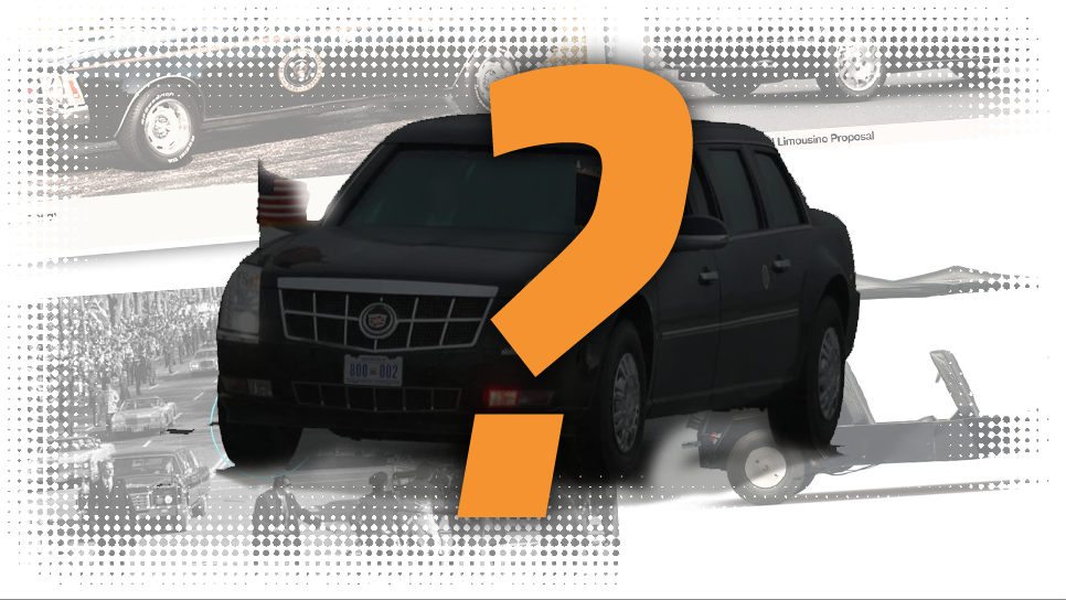 Top US presidential limousine rejects