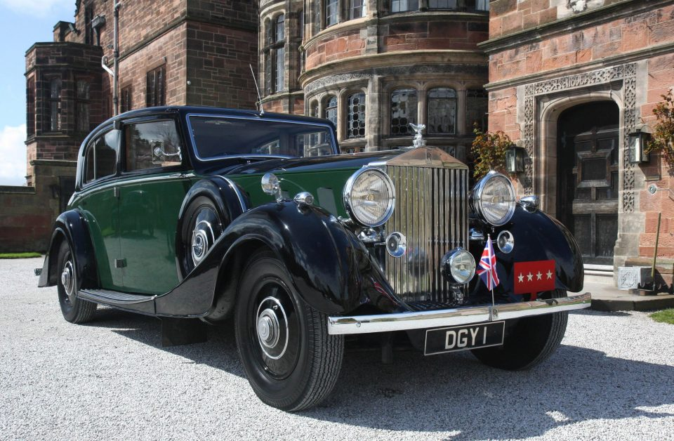 Rolls-Royce Phantom with a royal background up for sale for £200,000
