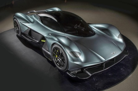 Video emerges showing the interior of the Aston Martin Valkyrie