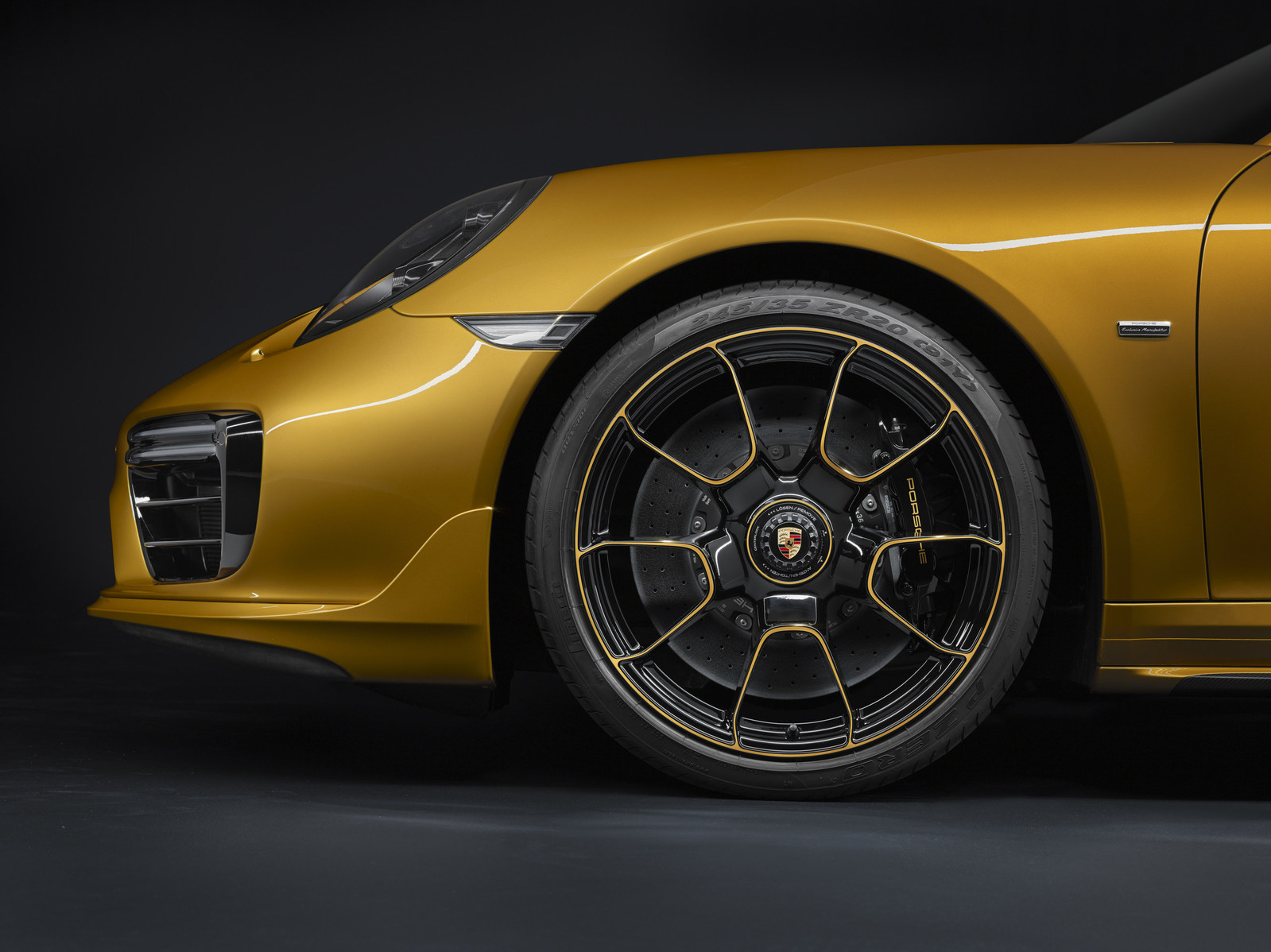 Most powerful turbo ranked as the Porsche 911 Turbo S Exclusive Series