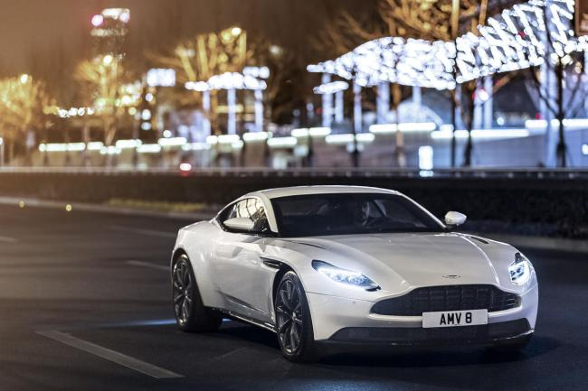 Aston Martin V8-powered ready for order