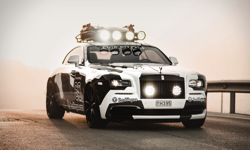 Jon Olsson rids his Lambo for a Rally-Ready Rolls-Royce Wraith