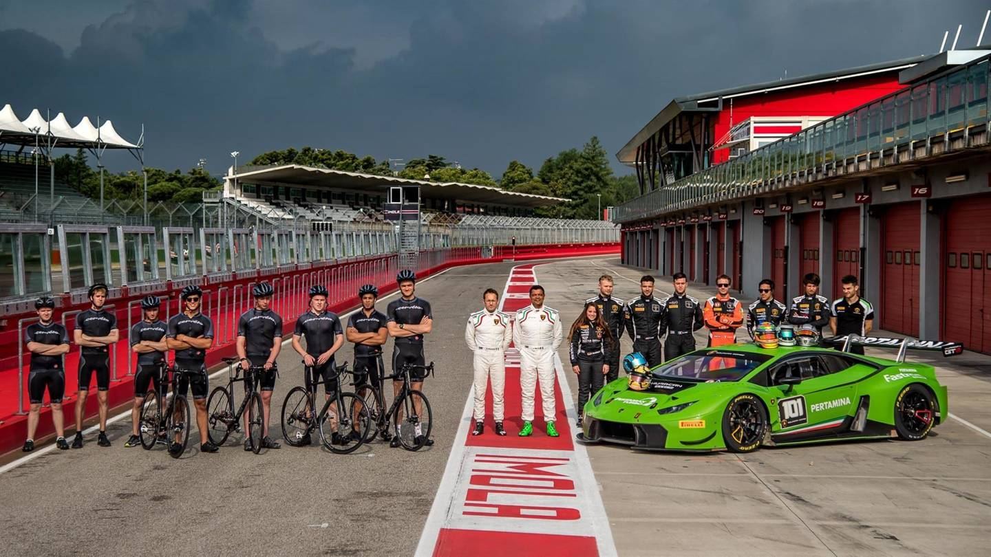 Lamborghini recruits young drivers for training programmes