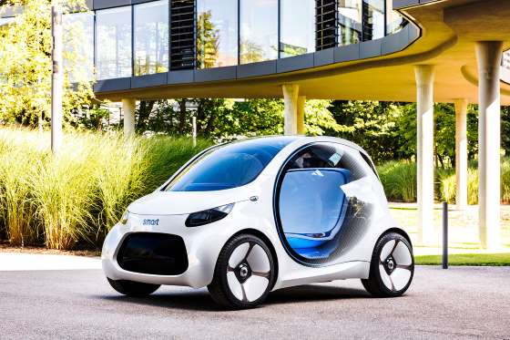 Smart Vision EQ set to be electric city car of the future