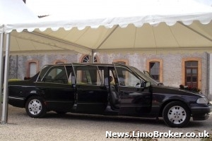 Man dies after falling from bonnet of Ford Scorpio limo similar to this pictured