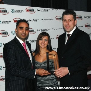 Kent limo hire company Wild Stretch Limos scoop the national award for Best Customer Service
