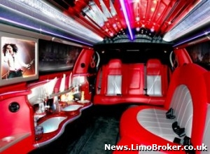 The luxury onboard features of ECB's latest limousine