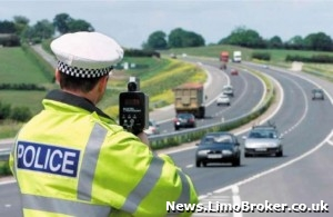 Former chauffeur boss caught by police exceeding a speed limit by 50mph