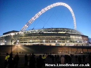 Great deals on limo hire to Wembley for the FA Cup Semi Final