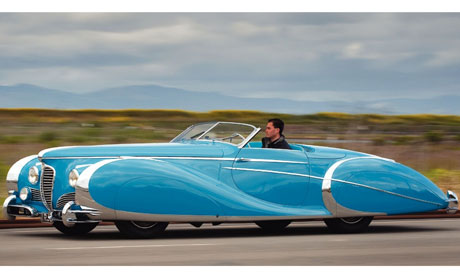 Vintage sports car once owned by a screen starlet to fetch $4m at auction