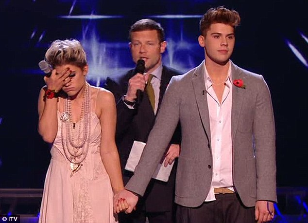 Katie Waissel saved at the expense of Aiden Grimshaw on last night's X-Factor