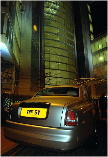 Rolls Royce Phantom at Transport Broker Awards 2011