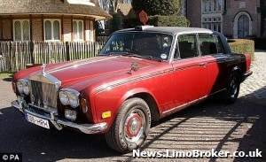 Rolls Royce limo once owned by Princess Margaret to go under the hammer