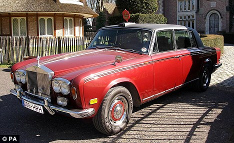 Rolls Royce Limo Once Owned By Princess Margaret To Go