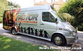 X Factor themed party bus launched in Manchester