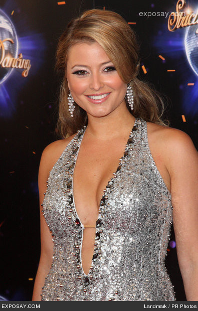 Holly Valance thinks Strictly girls at disadvantage dancing in heels