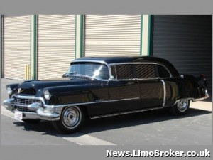 Elvis Presley limo to go under the hammer in California